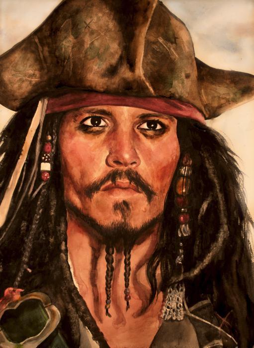Johnny Depp by PennyCS